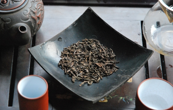 """Reifer (""""shu"""") Pu Erh Tee, Lincang, Yunnan, China"""