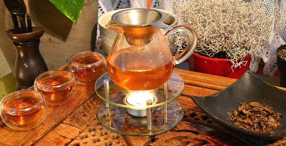 Stilvolle Zubereitung von Kyobancha Tee