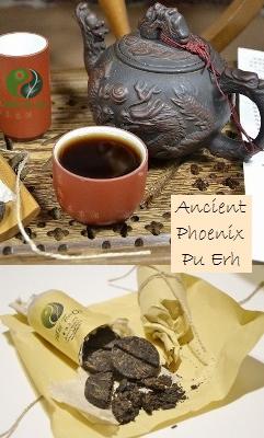 Ancient Phoenix Gereifter ('shu') Pu Erh Tee