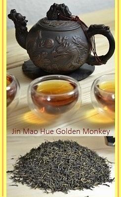 Imperial 'Jin Mao Hue' Golden Monkey Schwarzer Tee