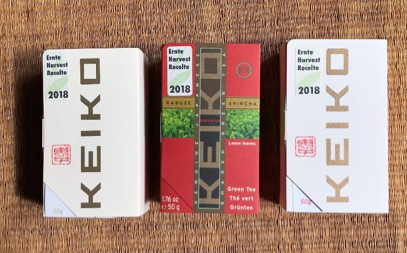 Keiko's Shincha Yakushima, Shincha Classic and Shincha Yume 2018