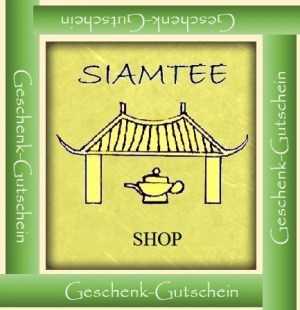 Der Geschenk-Gutschein im Siam Tee Shop - Reinen Tee schenken heißt reine Freude schenken
