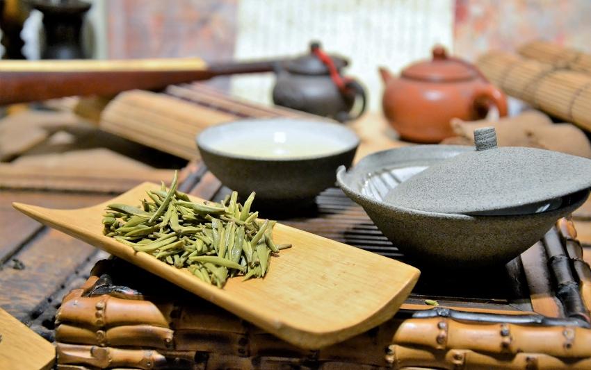Junshan Yinzhen Gelber Tee von der Insel Junshan