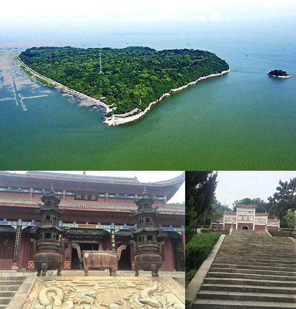Junshan island + temple