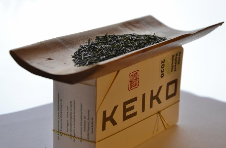 KEIKO's Kabusecha Sae Tezumi in decorative 40g box