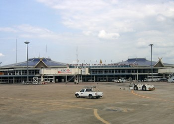 Vue sur l'aéroport international de Chiang Mai