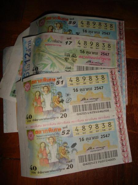 Les tickets de loto ont permis au Government Lottery Office d'être la plus grosse des entreprises publiques thaïlandaises en terme de bénéfice