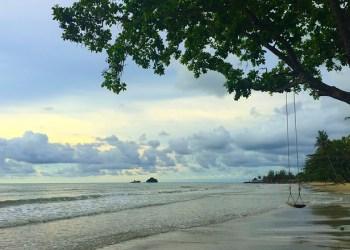 La plage de Kai Bei sur l'île de Koh Chang