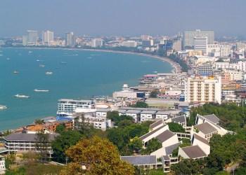 Vue sur la ville de Pattaya