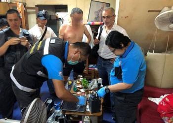 Pattaya : un français arrêté en possession d'images pédopornographiques