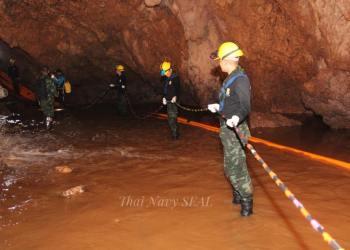 Tham Luang : l'opération de sauvetage pour évacuer les enfants et leur entraîneur a commencé