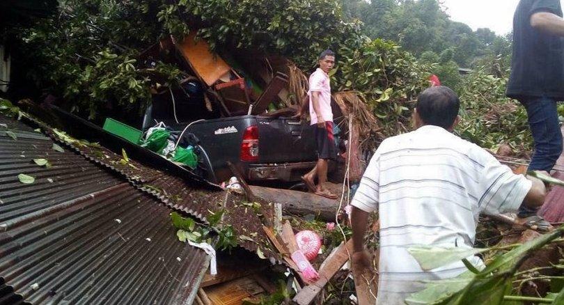 8 victimes sont à déplorer après un glissement de terrain survenu samedi dans le nord de la Thaïlande