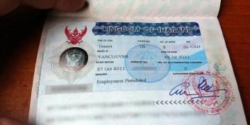 Les français vont bénéficier du visa électronique pour la Thaïlande