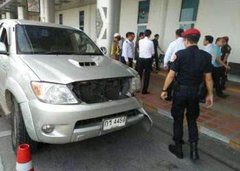 Chiang Mai : une femme renverse un agent de sécurité de l'aéroport après une querelle de parking