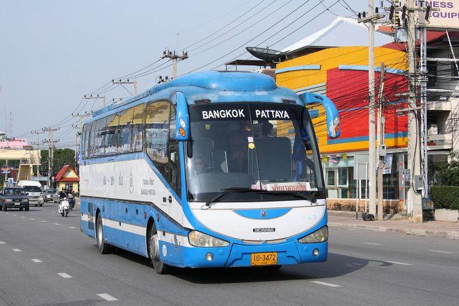 Bus effectuant la liaison entre Bangkok et Pattaya