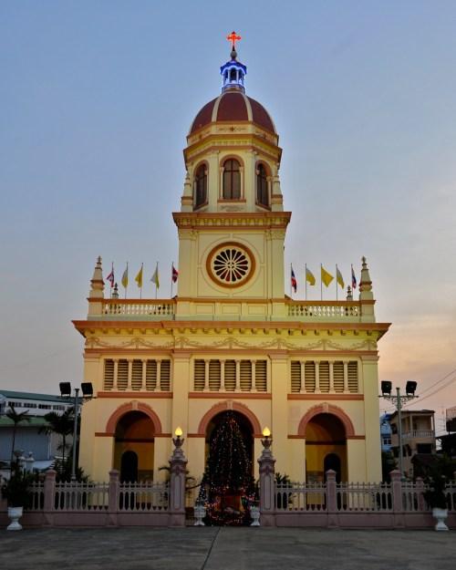 L'Église de Santa Cruz, à Bangkok