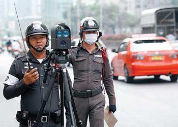 11 millions de contraventions impayées par les conducteurs thaïlandais