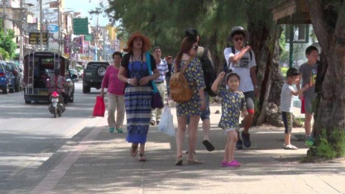 Le nombre de touristes chinois visant Chiang Mai a été divisé par deux depuis le début de l'année