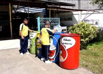 Une école thaïlandaise utilise les dessins animés pour encourager le tri des déchets