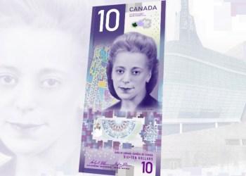 Le Canada va mettre en circulation son premier billet de 10 $ honorant une femme noire