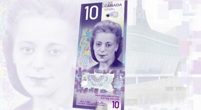 Le Canada mettra en circulation la semaine prochaine son premier billet de 10 $ rendant hommage à une femme noire