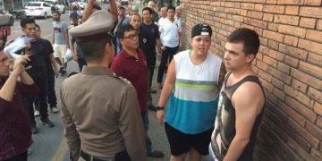 Chiang Mai : les 2 jeunes tagueurs évitent la prison