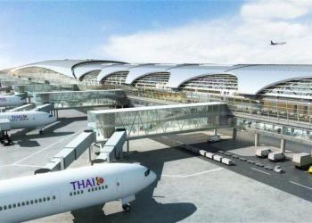 La construction du 2e terminal de Bangkok-Suvarnabhumi en stand-by