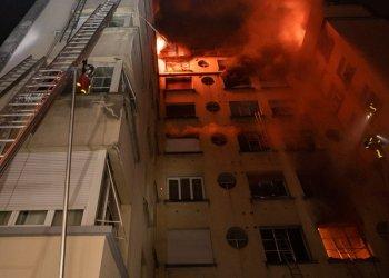 Paris : au moins 10 morts suite à l'incendie d'un immeuble