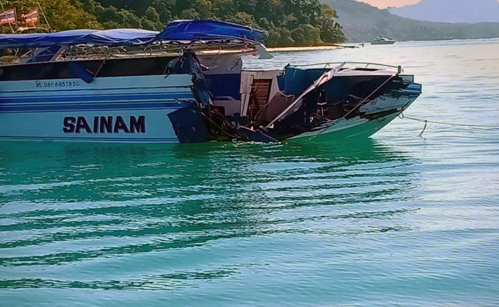 Phuket : 10 blessés après un accident de bateau