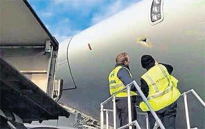 Un A380 de Thai Airways légèrement endommagé à Paris-Charles-de-Gaulle
