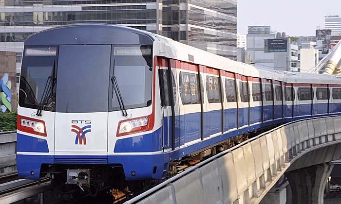"""Bangkok : les travaux de construction de la """"station de BTS fantôme"""" Suksa Witthaya ont débuté"""