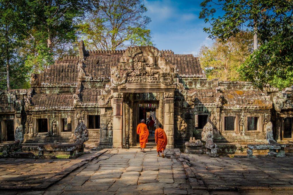 Cambodge : le déclin touristique se poursuit à Angkor Vat