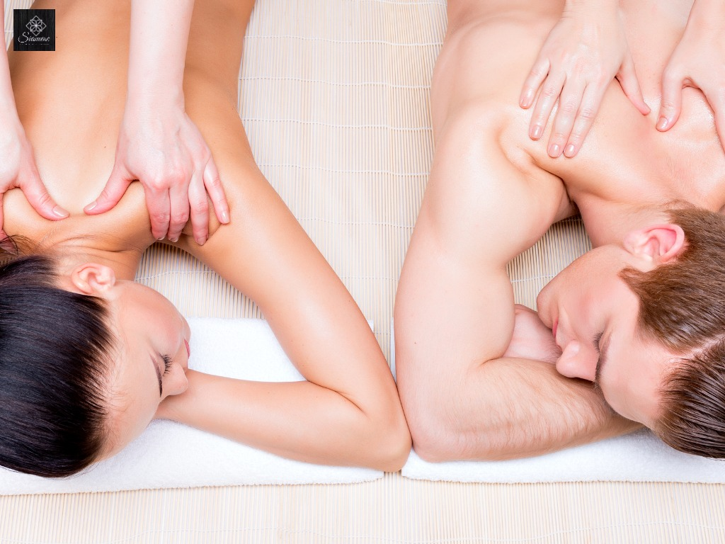 couple massage Siamese