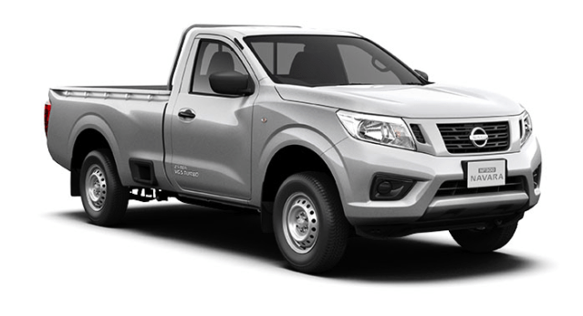 nissan np300 navara single cab brilliant silver