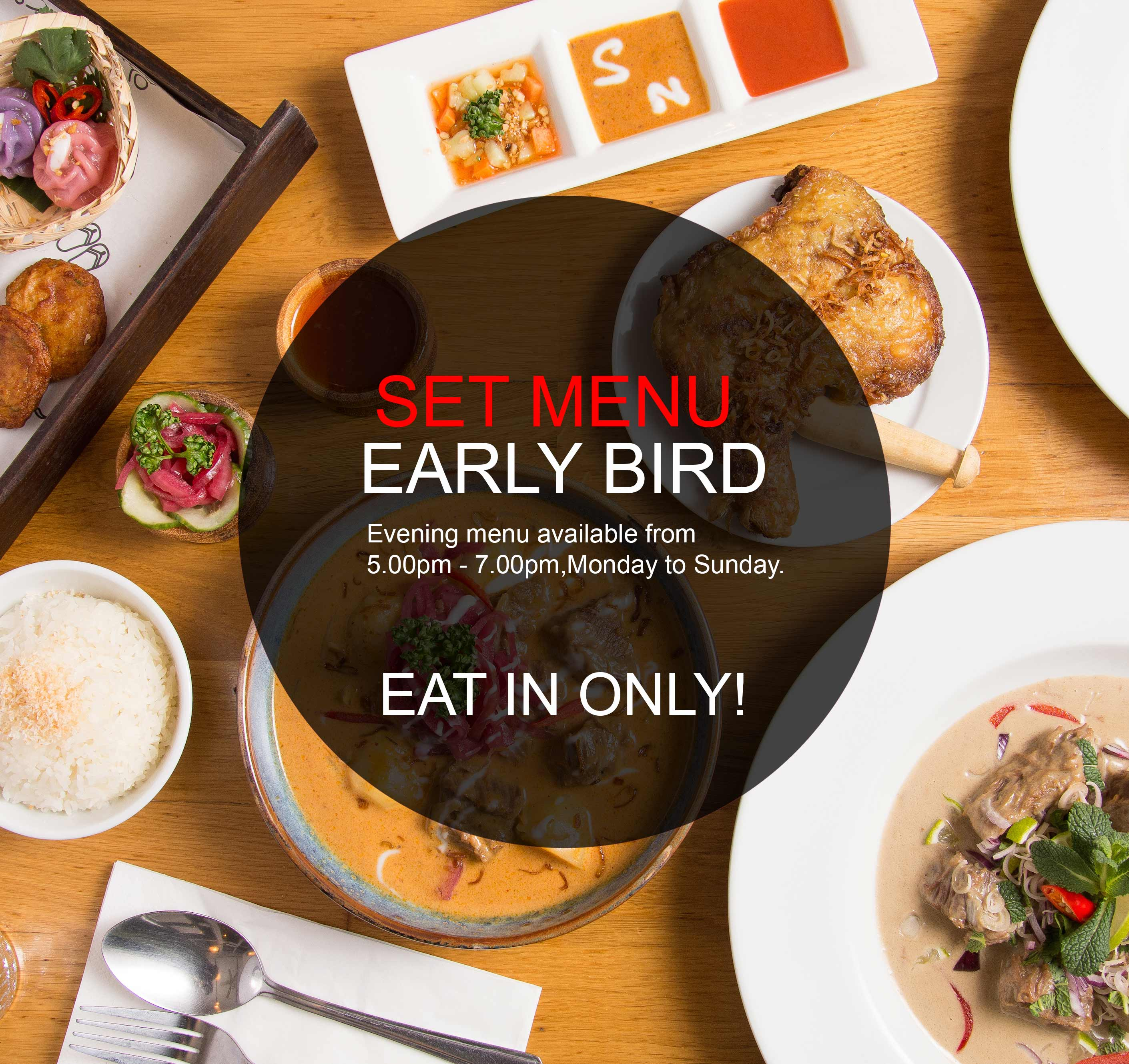 Read more about the article SET MENU EARLY BIRD