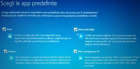 Windows 10  APP predefinite