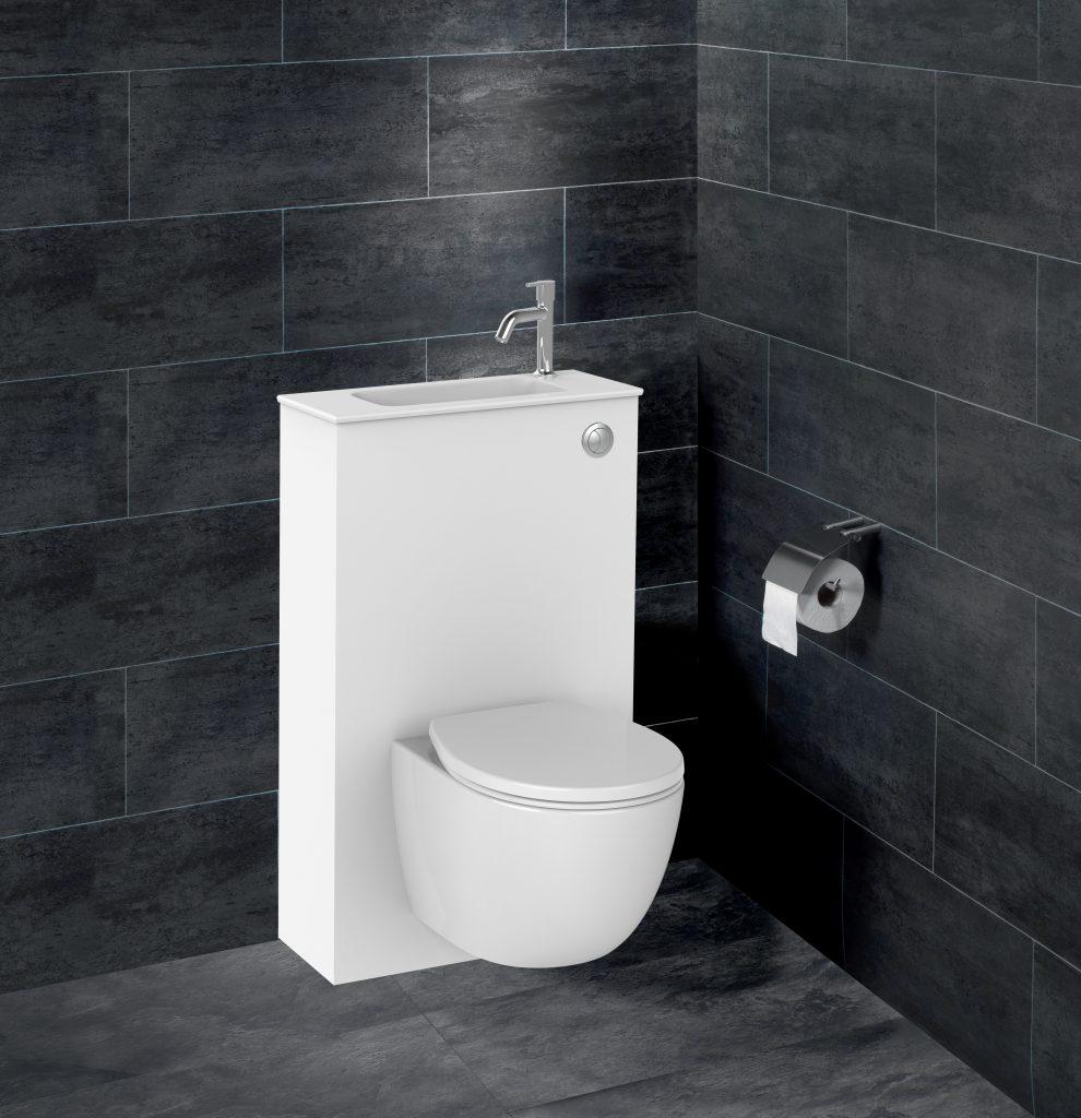 nouveau pack wc lave mains trio siamp