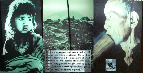 "Doi Tung Development Project, Hall of Inspiration: North Thailand ""History"" Collage"