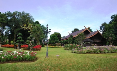 Doi Tung, Royal Villa, royal palace/residenc of the royal family onthe Doi Tung