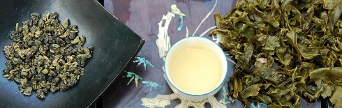 DMS Si Ji Chun 4-Seasons Oolong Tea wet / dry / first infusion
