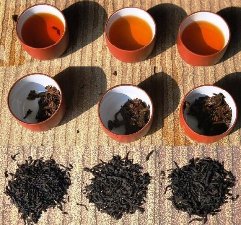 Tongmu Lapsang Souchong final choice: 3 x Jin Jun Mei