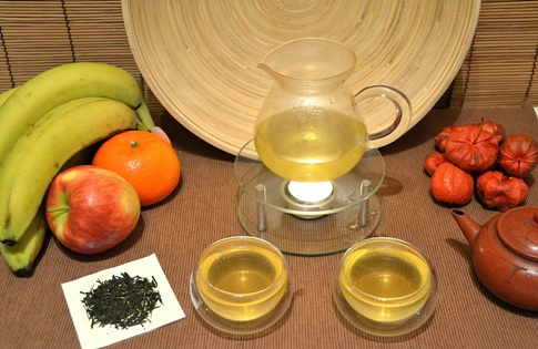 Japanese Sencha green tea (unshaded)
