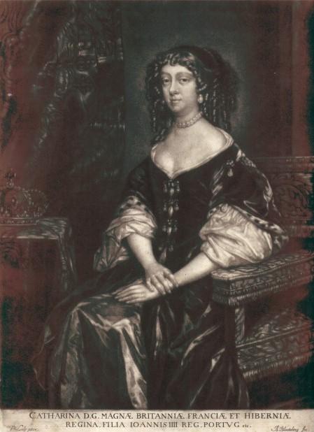Catherine de Braganza - Portuguese princess who introduced tea at the English court