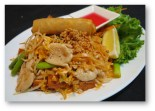 Phad Thai Chicken Lunch Combo