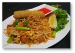 Phad Thai Vegetarian Lunch Combo