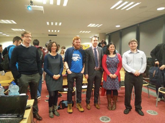 Speakers: James McTigue, Ananda Geluk, Peter White, Noel Lawless, Stefanie Carr, Barry Hurley