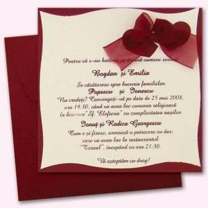 invitatii personalizate