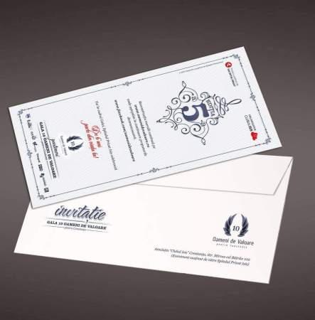 Plicuri personalizate + invitatii ISIS