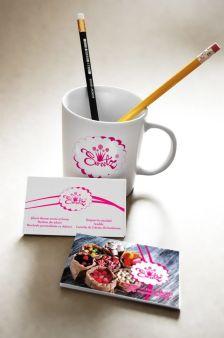Carti de vizita + cana personalizata SweetZ