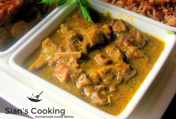 curry goat